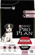 Pro Plan Puppy Medium Sensitive Skin OptiDerma (3 kg)