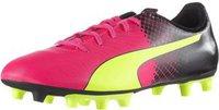Puma EvoSpeed 5.5 Tricks FG Men pink glo/safety yellow/black