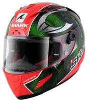 Shark Race-R Pro Sykes rot/grün/chrome