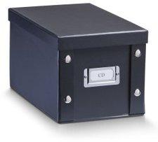 Zeller CD-Box  16,5 x28 x15cm schwarz (17938)