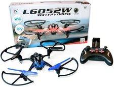 Aircraft L6052W Wifi FPV Quadrocopter Blau