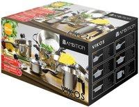 Ambition Kitchen Vikos Topfset 10-teilig (68870)
