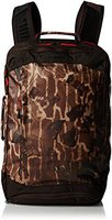 The North Face Refractor Duffel Pack brunette brown catalog print