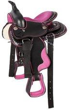 Pfiff Westernsattel Pony Pink