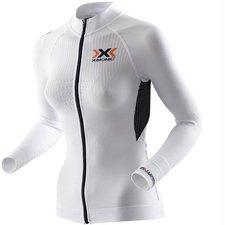 X-Bionic X-Bionic The Trick Biking Shirt Long Sleeves Full Zip Women white / black