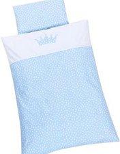 Babybay Kinderbettwäsche Krone hellblau (400707)