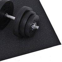 HomCom Bodenschutzmatte für Fitnessgeräte 140x80cm