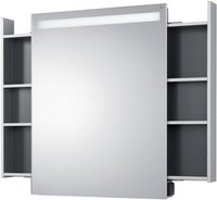Emco monolith Lichtspiegelschrank Auszug links rechts (9797 050 70)