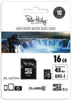 Peter Hadley HighSpeed microSDHC UHS-I U1 Class 10 - 16GB