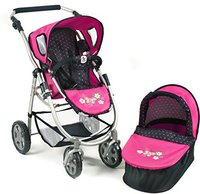 Bayer Chic Emotion 2in1 - Dots Navy/Pink