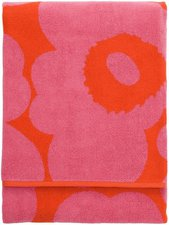 Marimekko Unikko Strandtuch rot/pink (100x180cm)