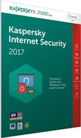 Kaspersky Internet Security 2017 (3 User) (1 Jahr) (DE) (FFP)