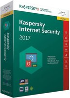 Kaspersky Internet Security 2017 Upgrade (1 User) (1 Jahr) (DE) (Box)
