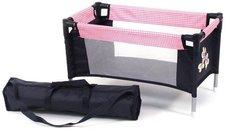 Bayer Chic Puppen-Reisebett Pink Checker