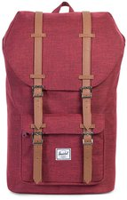 Herschel Little America Backpack winetasting crosshatch/tan