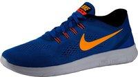 Nike Free RN heritage cyan/black/blue spark/laser orange