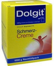 DOLORGIET  Dolgit Schmerzcreme Nachfüll für Spender (1000 g)