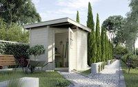 weka Holzbau Gartenhaus 229 Gr. 1 natur (209 x 205 cm)