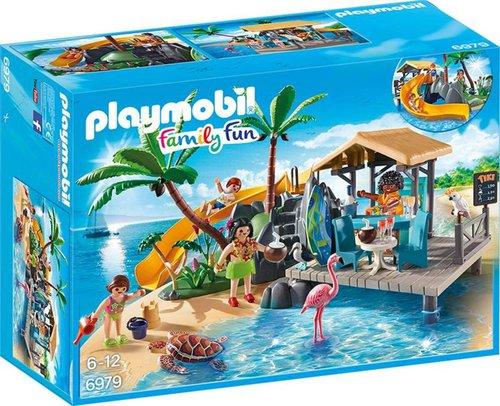 Playmobil Family Fun Karibikinsel mit Strandbar (6979)
