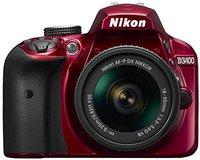 Nikon D3400 Kit 18-55 mm rot