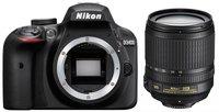 Nikon D3400 Kit 18-105 mm schwarz