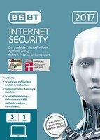 ESET Internet Security 2017 (3 Geräte) (1 Jahr) (Box)