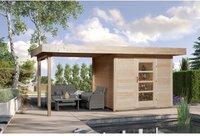 weka Holzbau Designhaus 172 B Gr. 2 natur (590 x 300 cm)