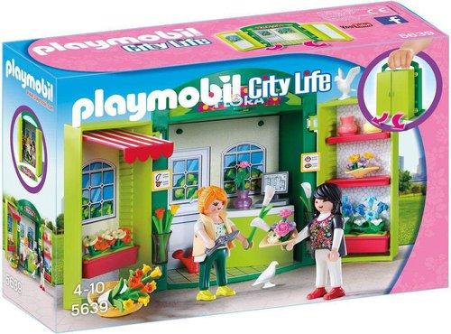 Playmobil City Life Aufklapp-Spiel-Box Blumenladen (5639)
