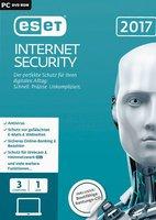 ESET Internet Security 2017 (3 Geräte) (1 Jahr) (FFP)