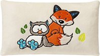 Nici Forest Friends - Kissen Fuchs Finolin und Eule Olalia 43 x 25 cm