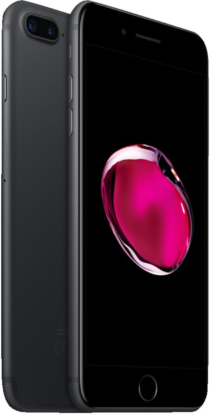 Apple Iphone 7 Plus 128gb Schwarz Ohne Vertrag Günstig Kaufen