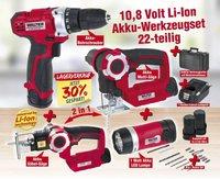 Walter Akku-Werkzeug-Set 10,8V Li-Ion (K620251)