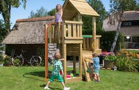 Jungle Gym Cubby - Fireman's Pole