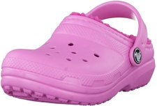 Crocs Kids Fuzz Lined Clog party pink/candy pink