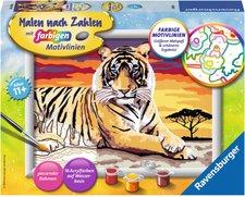 Ravensburger Malen nach Zahlen Majestätischer Tiger
