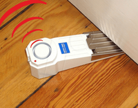 SAFETY FIRST Türstopper mit Alarm weiß