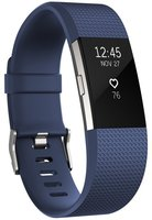 Fitbit Charge 2 Blau / Silber large