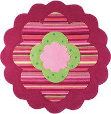 Esprit Home Flower Shape rund 100cm  rosa