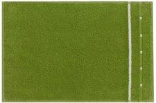 Vossen Quadrati Gästetuch basil green/weiß (30x50cm)
