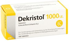 Mibe Dekristol 1000 I.E. Tabletten (100 Stk.)