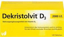 Mibe Dekristolvit D3 2.000 I.E. Tabletten (120 Stk.)