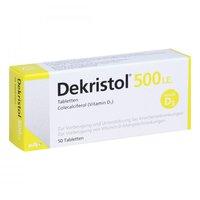 Mibe Dekristol 500 I.E. Tabletten (50 Stk.)