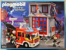 Playmobil City Action - Feuerwehr Mega Set (9052)