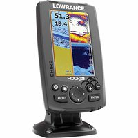 Lowrance Hook-4 Mid / High / Down Scan