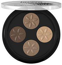 Lavera Beautiful Mineral Eyeshadow Quattro - 02 Cappuccino Cream (3,2g)