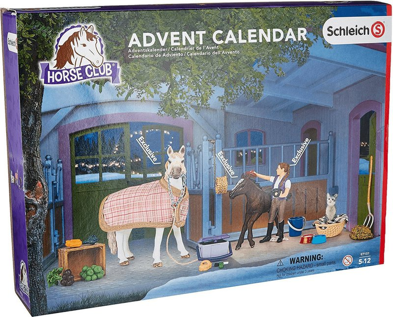 schleich adventskalender pferde 2016 preisvergleich ab 23 99. Black Bedroom Furniture Sets. Home Design Ideas