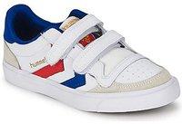 Hummel Stadil Leather JR Low white/blue/red/gum