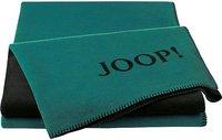 Joop! Uni-Doubleface 150x200cm smeraldo/schwarz