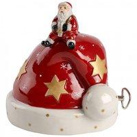 Villeroy & Boch Nostalgic Melody Mütze mit Santa 12cm