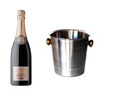 Duval-Leroy Brut mit Champagnerkühler 0,75l